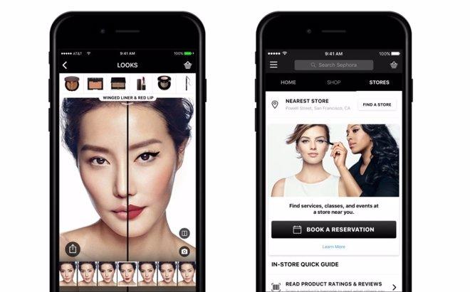 App móvil de Sephora