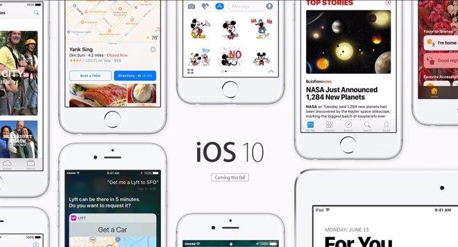 IOS 10, el nuevo sistema operativo de Apple