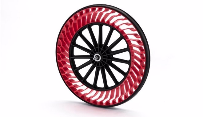 Nuevos neumáticos sin aire para bicicletas