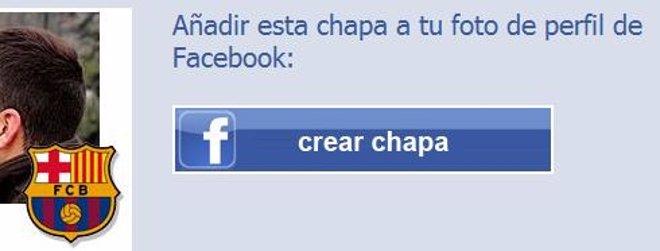Chapa Del Barcelona En Facebook Desde Chapaperfil