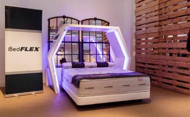 Flex presenta el colchón inteligente iBedFlex, que se adapta a la ...
