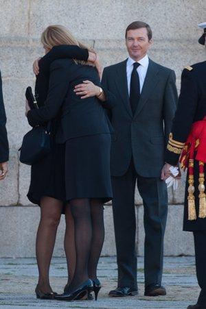 Cristina de Borbón es muy bien recibida