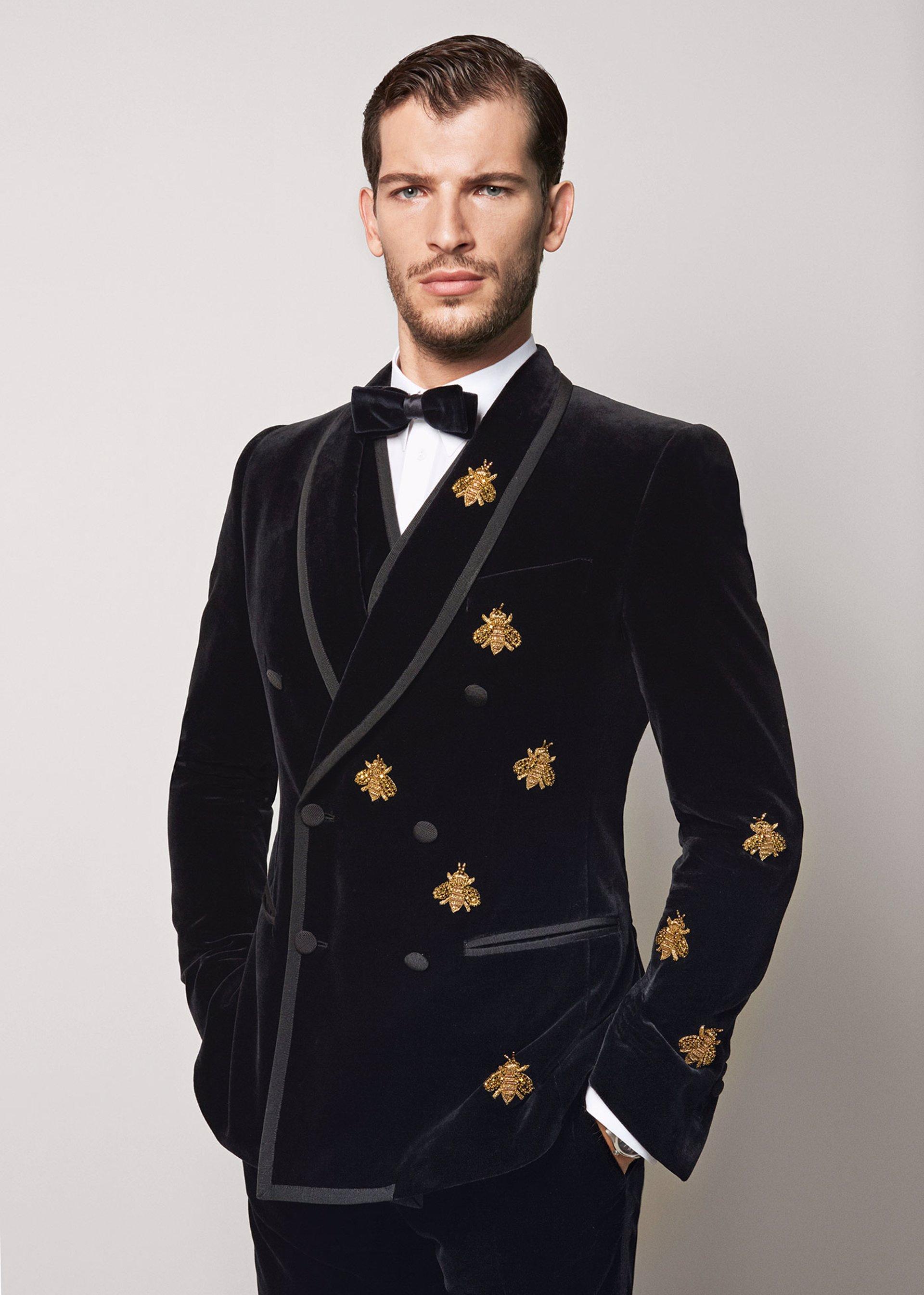 Moda hombre  Ideas de trajes para Nochevieja y Nochebuena fe343f4e184