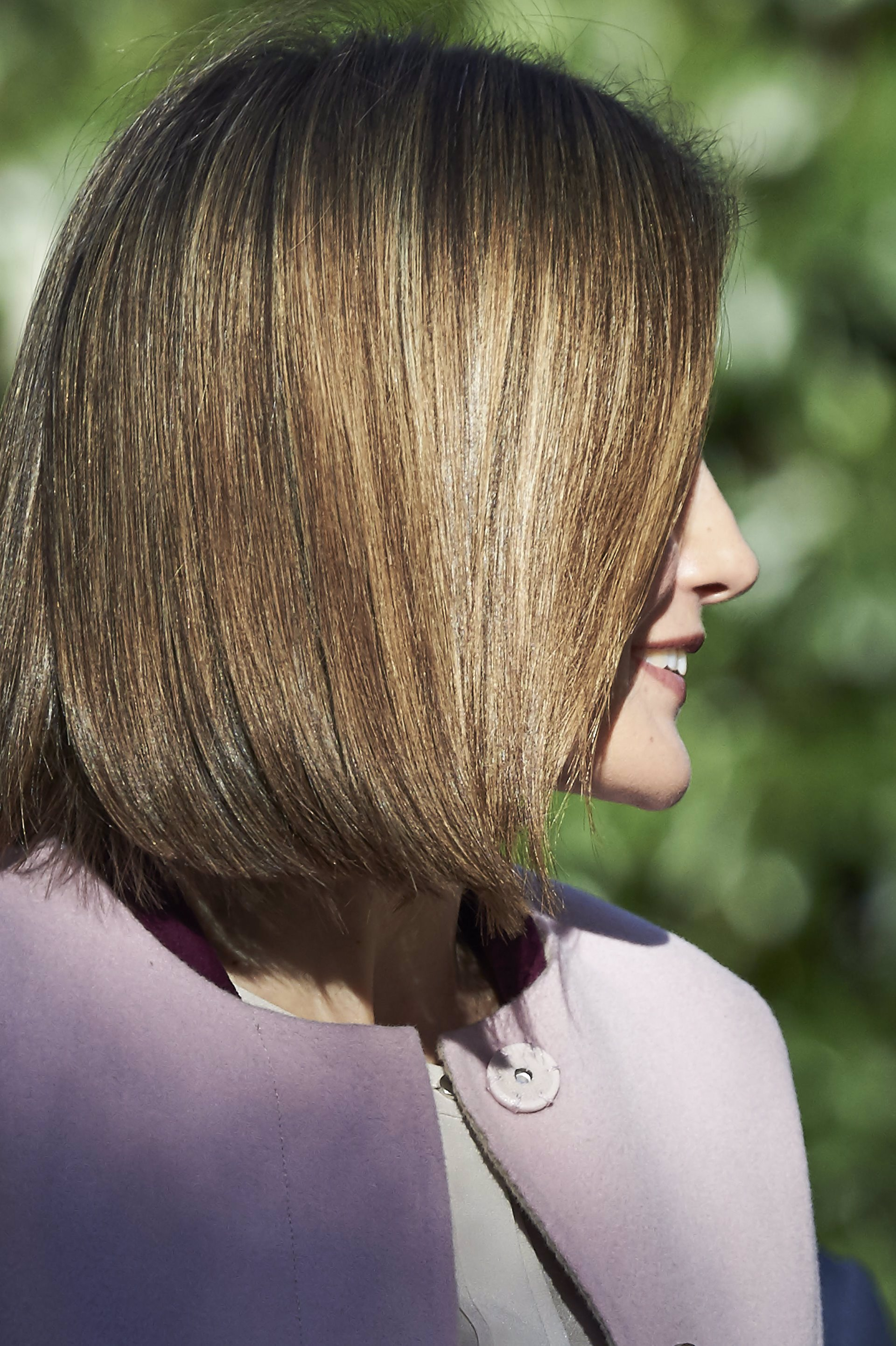 Corte en u cabello corto