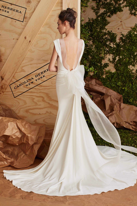 Desafía la tradición con los vestidos de novia de Carolina Herrera
