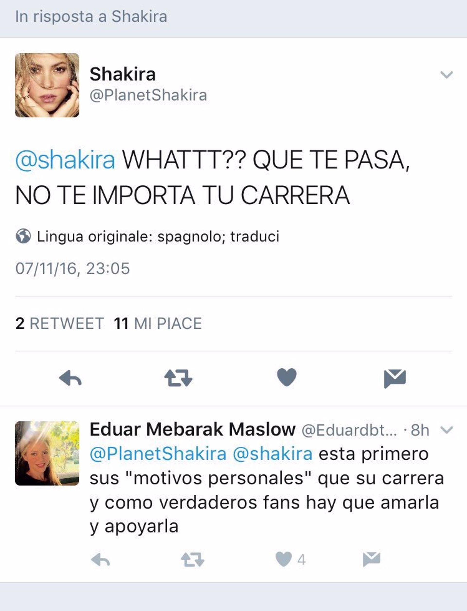 Los fans de shakira indignados le acusan de abandonar su - Diva futura shakyra ...