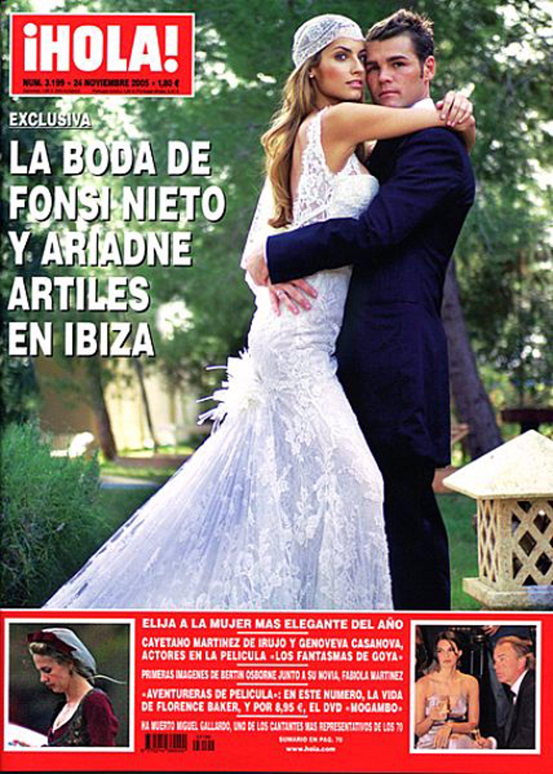 Tras la boda de fonsi y marta castro repasamos todos los for Ariadne artiles se casa con fonsi nieto