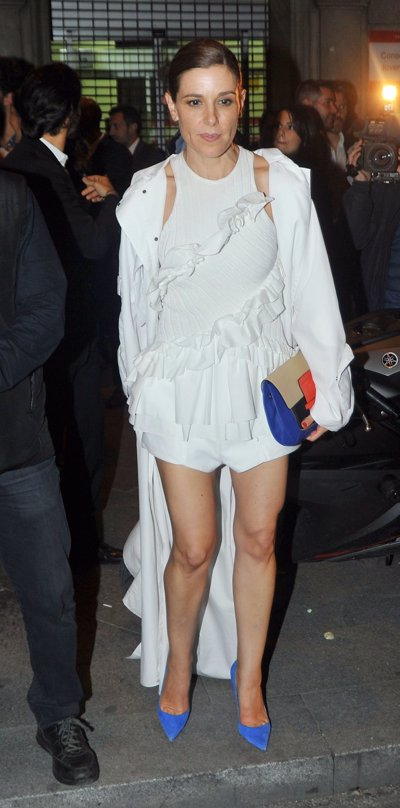 Raquel Sánchez Silva en la gran fiesta de Cartier por Diana Garbacauskiene