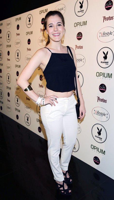 en la fiesta Playboy por Josefina Blanco