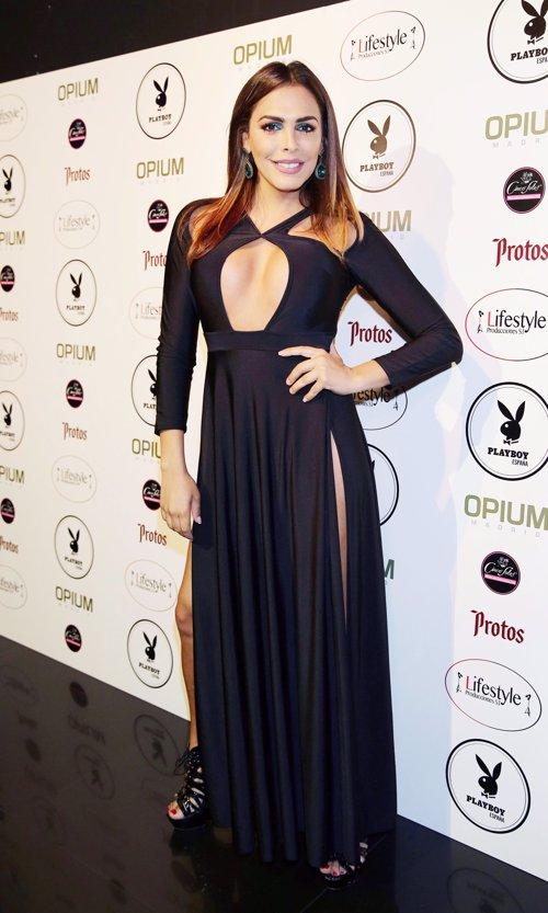 Amor Romeira en la fiesta Playboy por Josefina Blanco