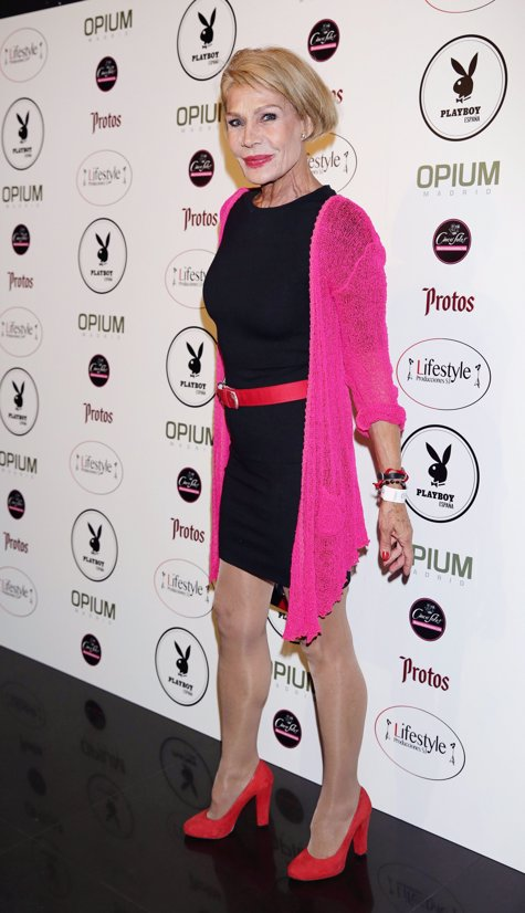 Rosa Valenti en la fiesta Playboy por Josefina Blanco