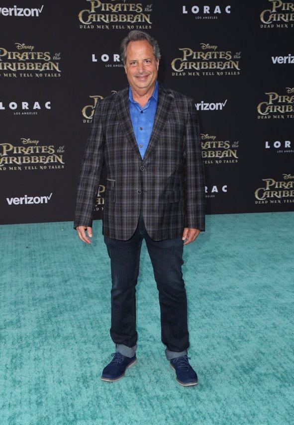 Actor Jon Lovitz en la premiere de Piratas del Caribe La Venganza de Salazar en California. Getty Images