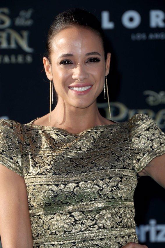 La actriz Dania Ramirez en la premiere de Piratas del Caribe La Venganza de Salazar en California. Getty Images