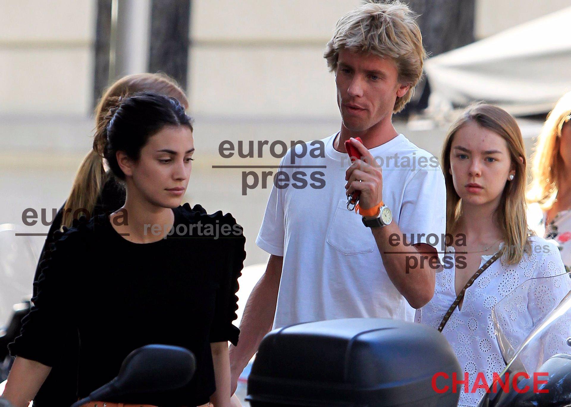 Christian de Hannover y su novia ejercen de guías turísticos