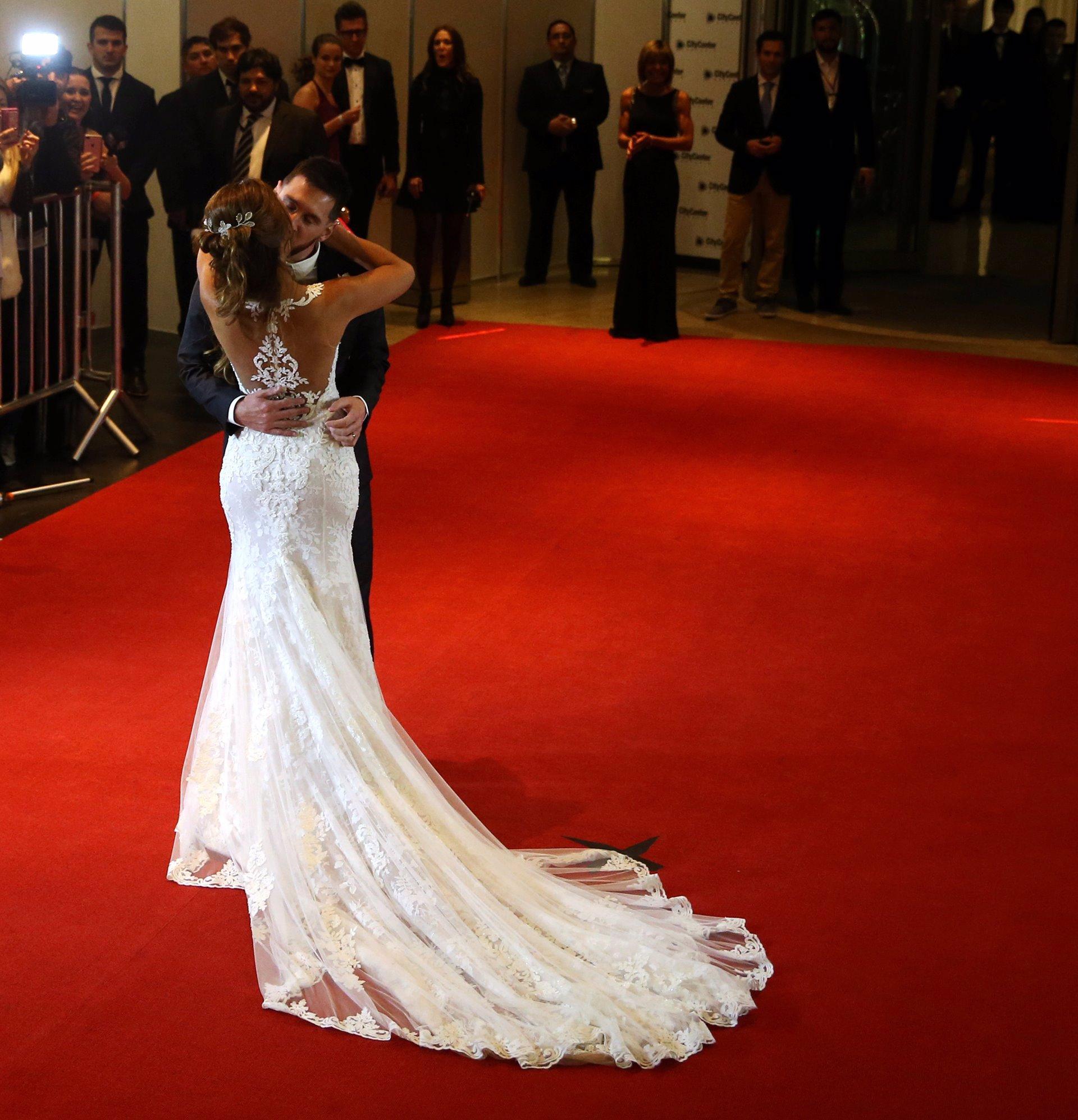 Vestido de novia mujer de messi