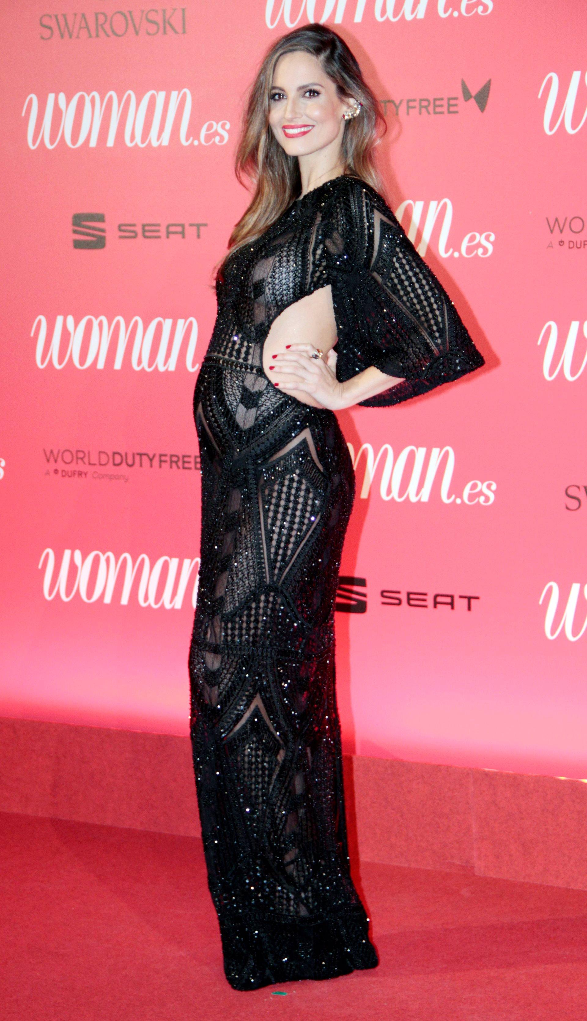 Glamour y elegancia en la alfombra roja de los II Premios Woman
