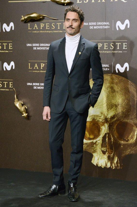 Paco León en el estreno de La Peste