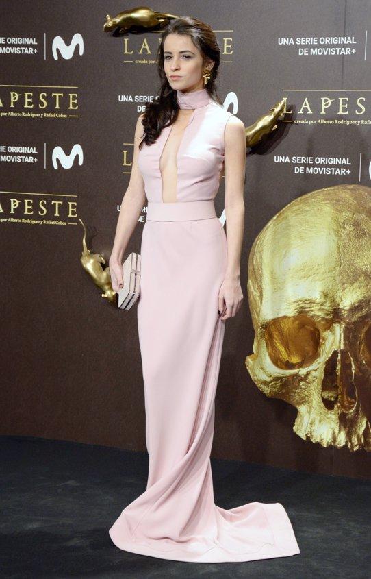 Patricia López Arnaiz en el estreno de La Peste