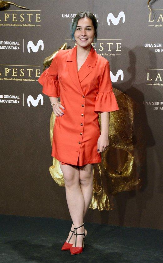 Nadia de Santiago en el estreno de La Peste