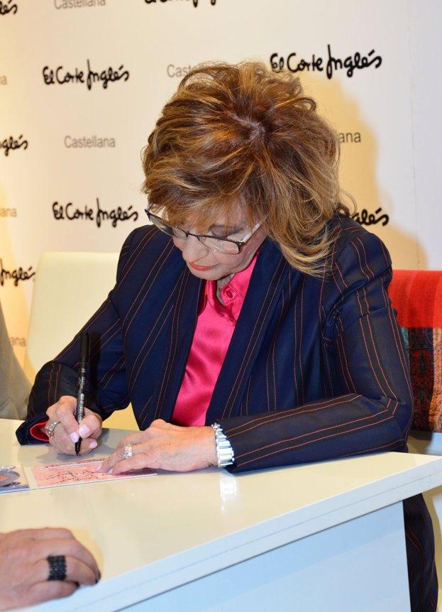 María Teresa Campos firman su primer disco con Edmundo Arrocet