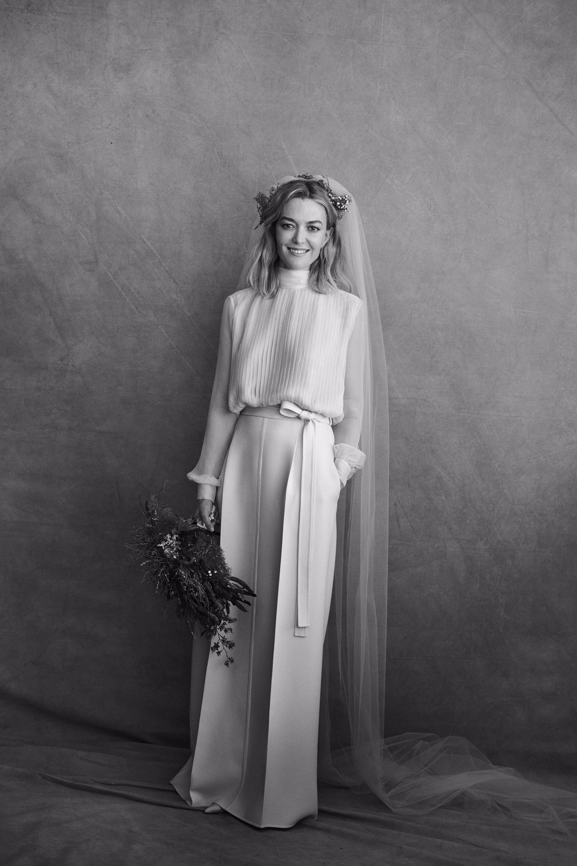 Marta Ortega vestido de novia de Valentino
