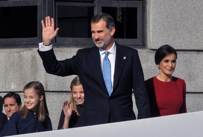 La Princesa Leonor y la Infanta Sofía, protagonistas el día del 40 aniversario de la Constitución
