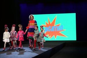 FIMI: Agatha Ruiz de la Prada y su  apuesta  en la pasarela de la moda infantil