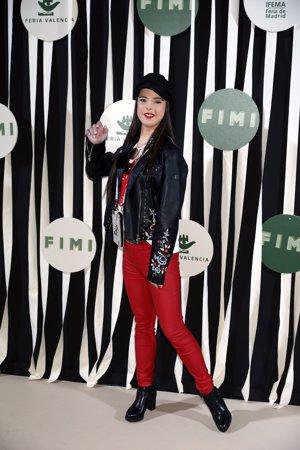 FIMI:  La modelo Marián Avila en la pasarela de la moda infantil