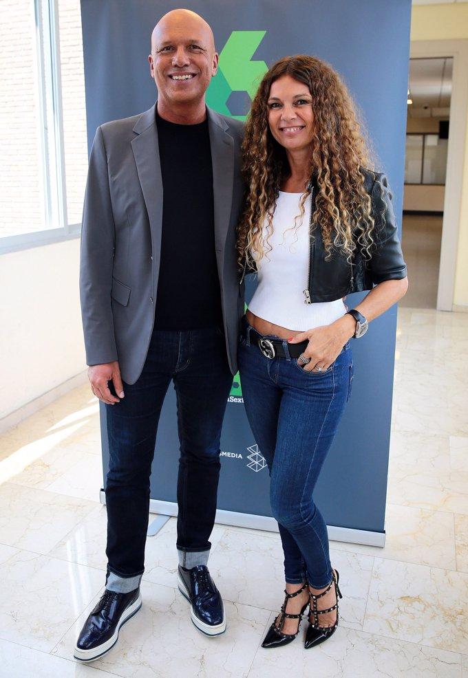 Alfonso Arus y Angie Cardenas pareja dentro y fuera del trabajo
