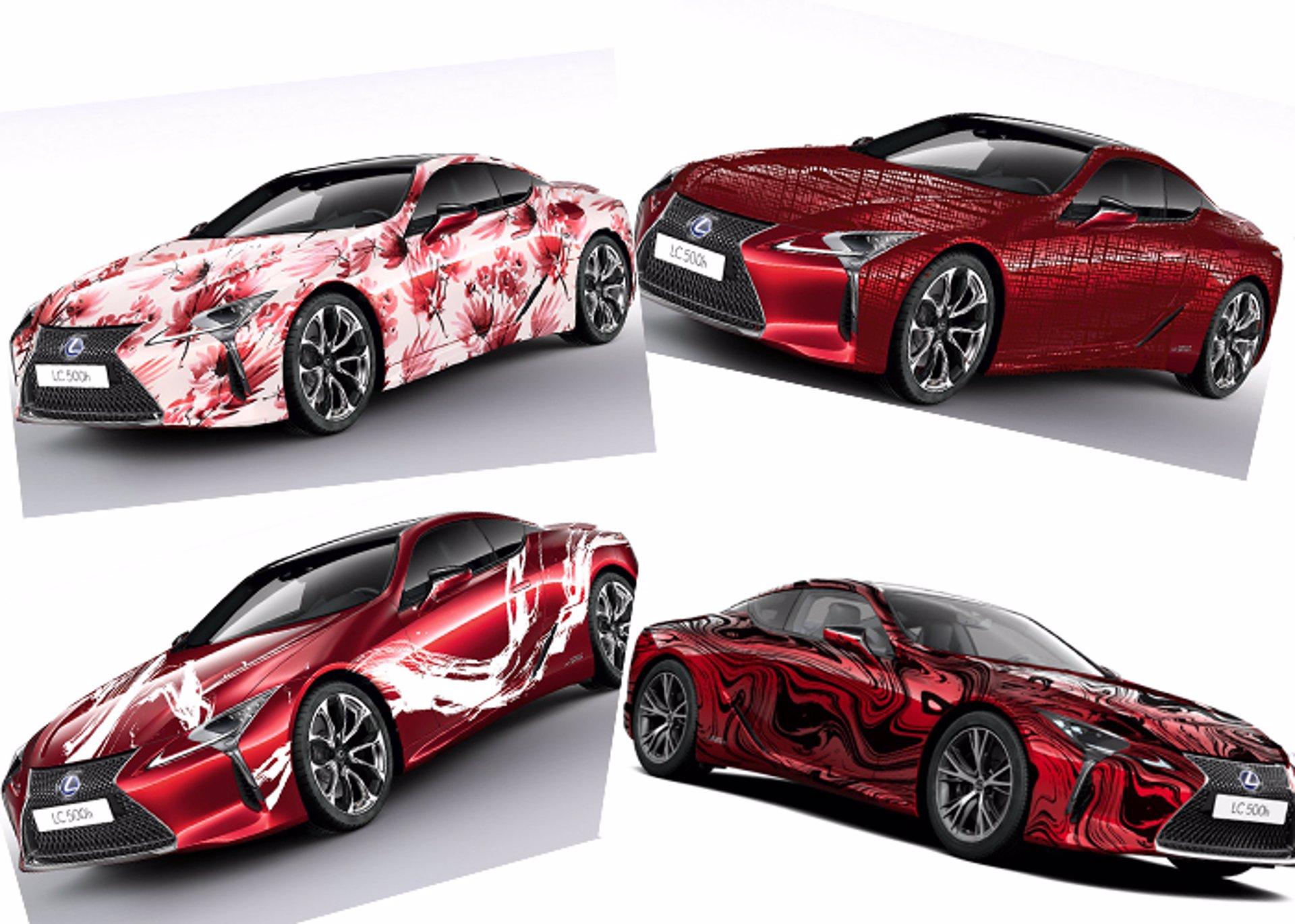 Lexus Art Car-LC 500h
