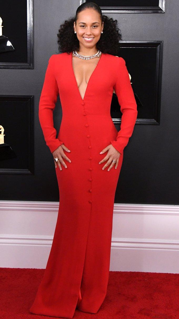 Alicia Keys, anfitriona en la 69 edición de los Grammy- Getty