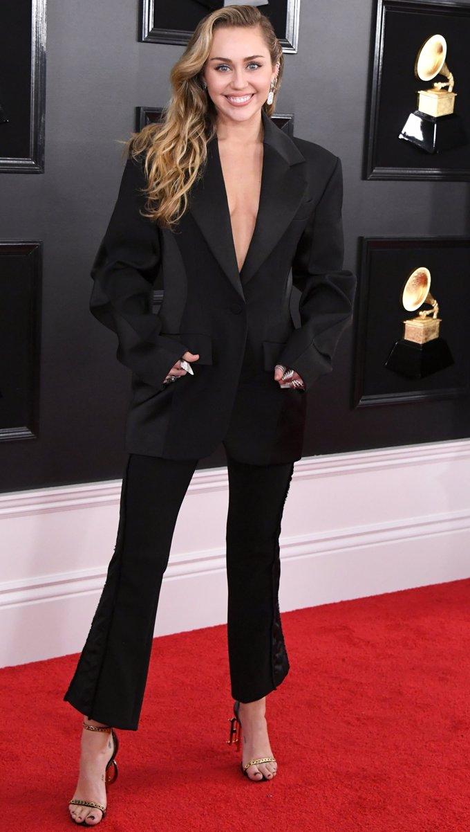 Miley Cyrus de Thierry Mugler- Getty