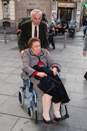 Infanta Margarita en su 80 cumpleaños