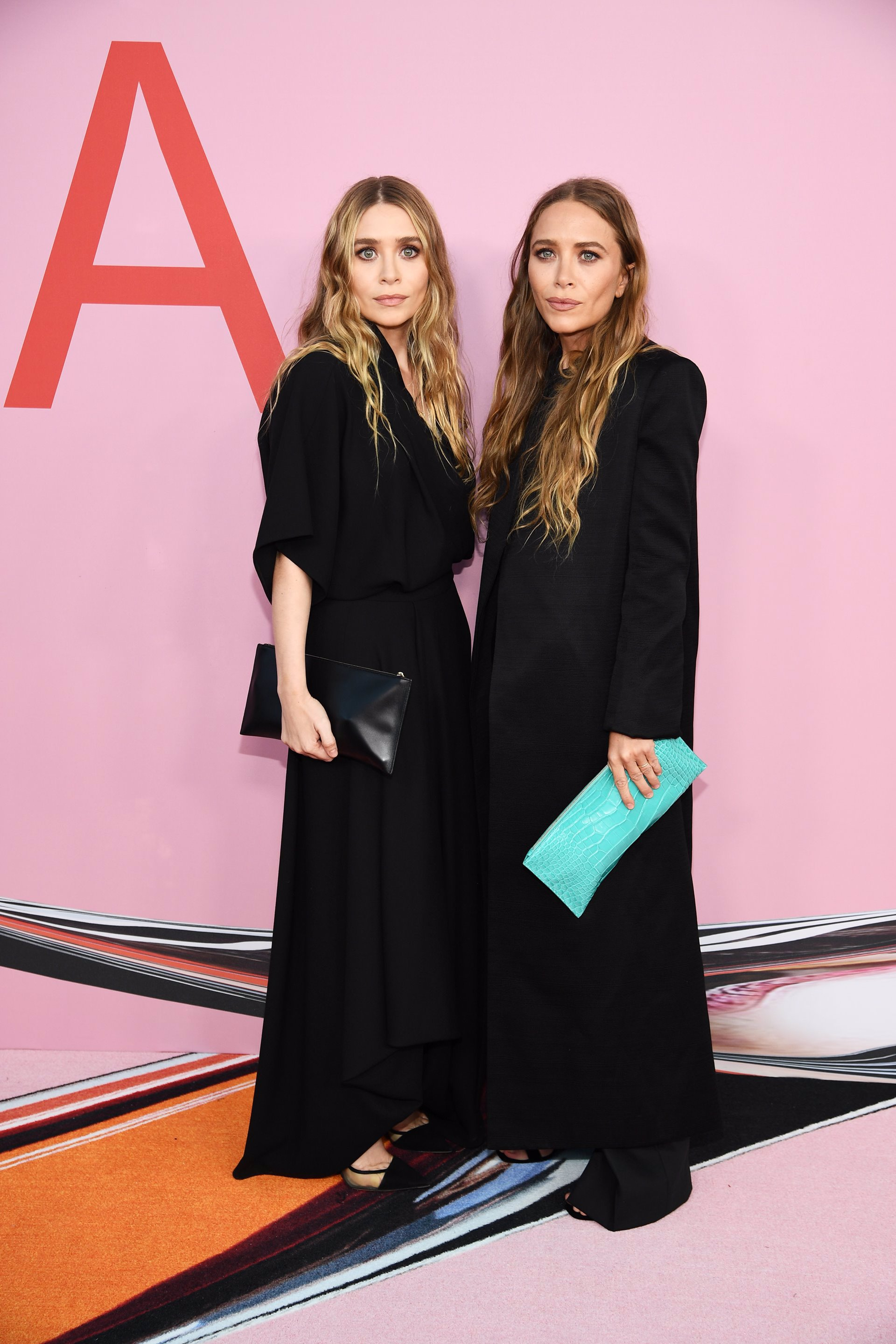 Las hermanas Olsen en los CFDA Fashion Awards