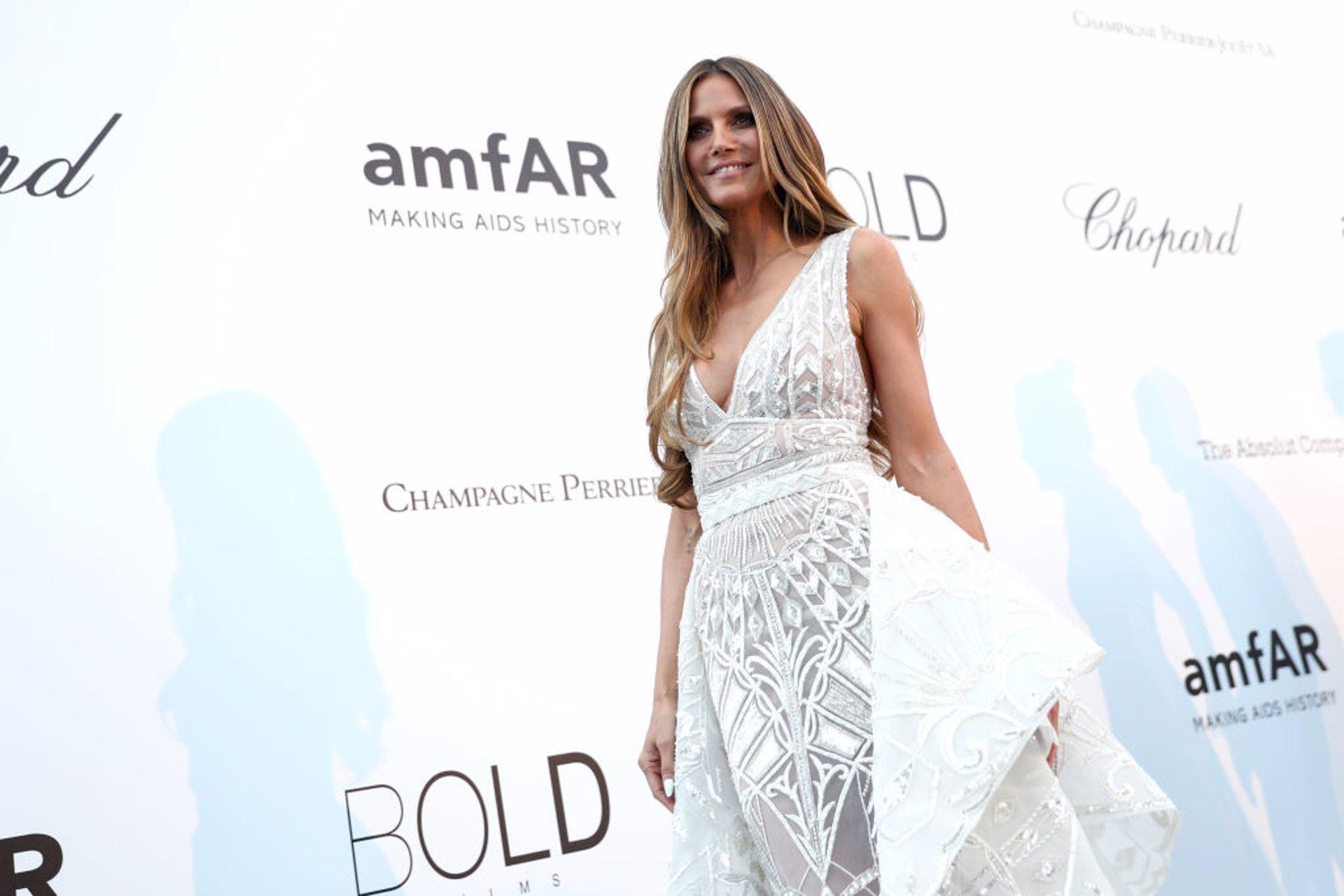 Pilar Rubio Le Copia Su Vestido De Novia A Heidi Klum