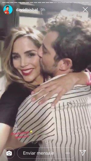 David Bisbal y Rosanna Zanetti pregonan su amor por las redes sociales