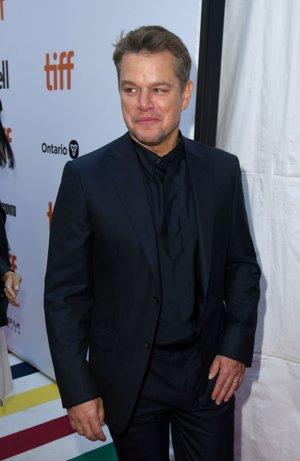 Matt Damon en la premiere de 'Ford v Ferrari' en el TIFF