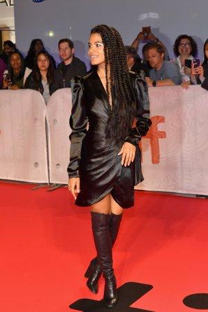 Zazie Beetz en la premiere de 'Joker' en el Festival Internacional de Cine de Toronto