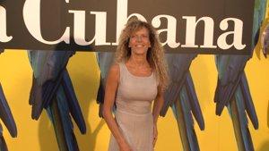 Carmen Conesa en el estreno de 'Adiós Arturo'