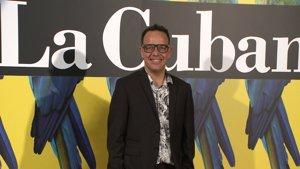Ángel Llácer en el estreno de 'Adiós Arturo'