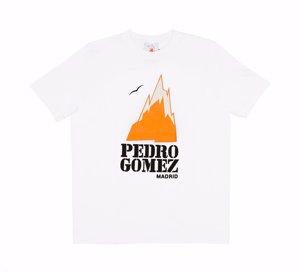 Camiseta Pedro Gomez en blanco y en negro