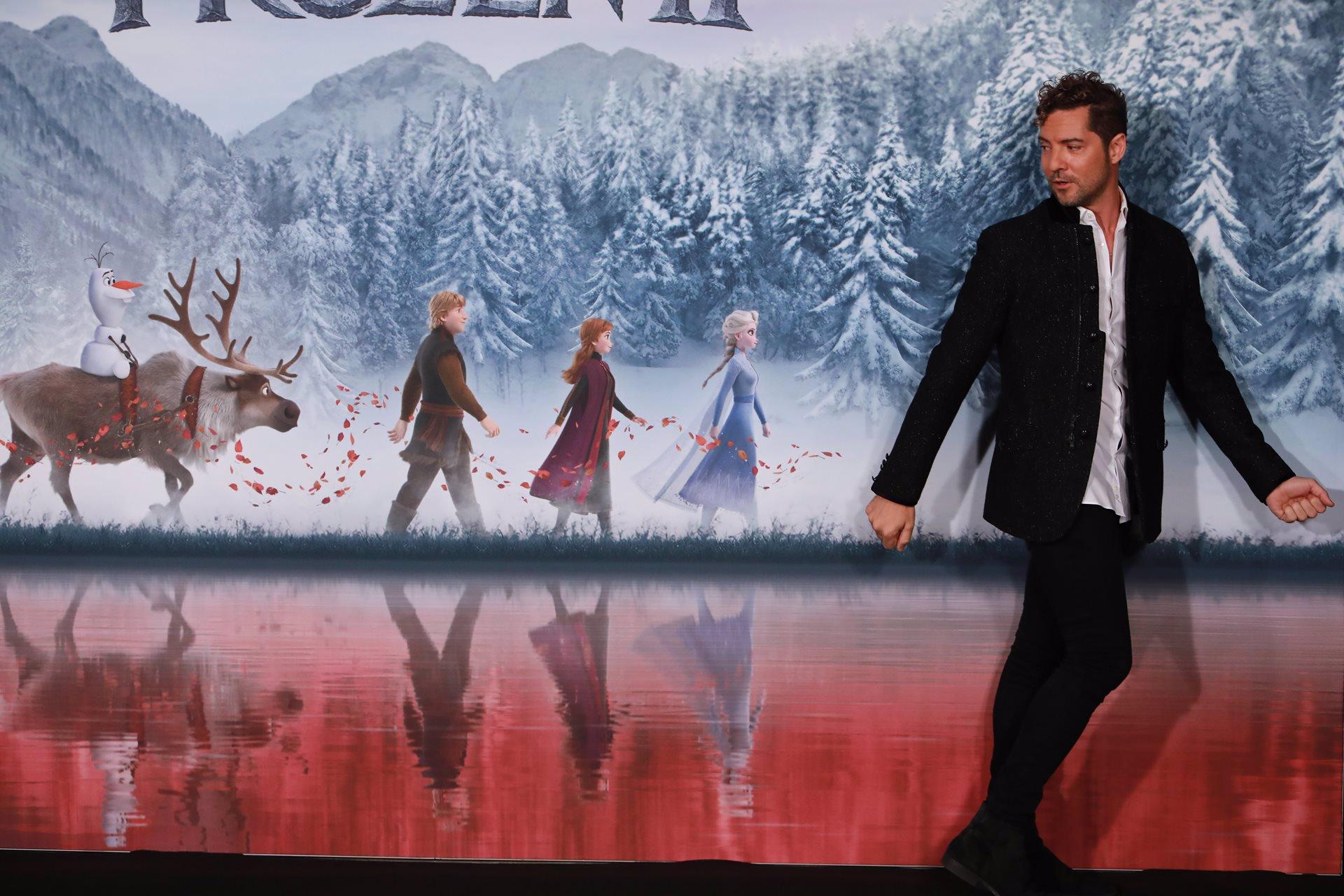 """David Bisbal va Mucho más allá: """"Estoy eternamente agradecido a Frozen 2"""""""