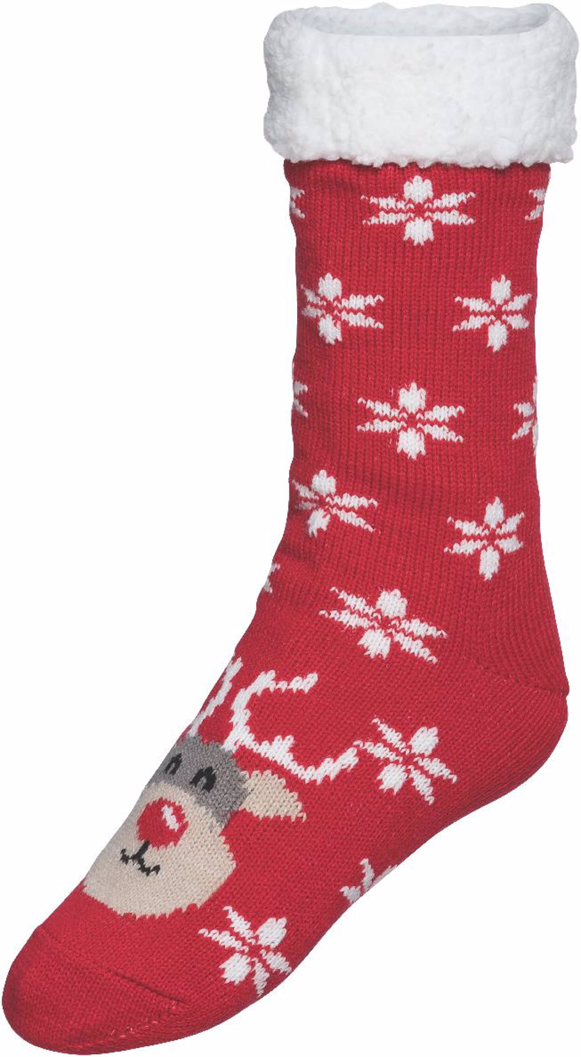 calcetines motivos navideños a juego con jersey