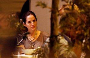 Adriana Carolina Herrera disfrutó de una romántica cena con su pareja, Francisco Bosch