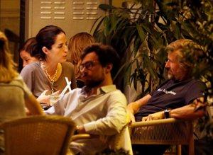Adriana Carolina Herrera y Francisco Bosch compartieron confidencias durante toda la velada