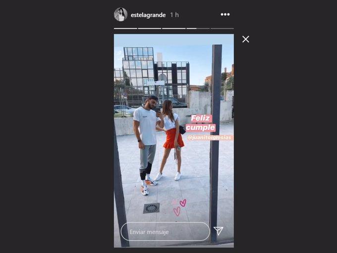 La modelo ha felicitado a su nuevo novio compartiendo su primera foto juntos en Instagram