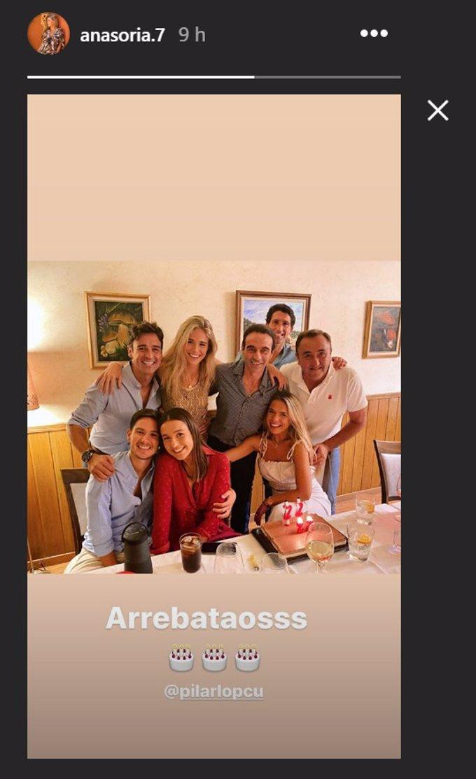 El grupo de amigos de Ana Soria y Enrique Ponce ya tiene nombre propio