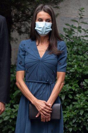 La monarca ha acertado con  uno de los vestidos más favorecedores de su guardarropa
