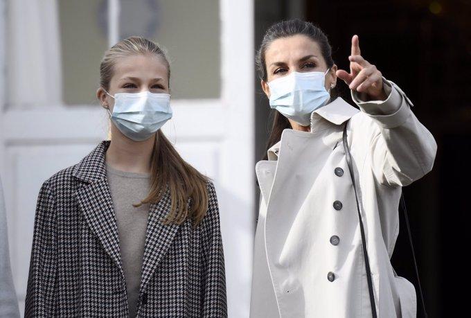 La complicidad entre la Reina Letizia y sus hijas que cada vez es más palpable