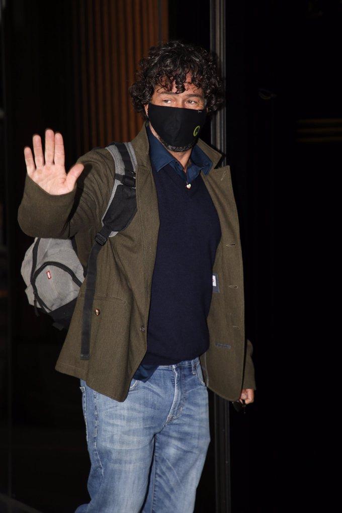 Nacho Palau, a su llegada al juicio que le enfrenta a Miguel Bosé